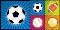 4 ลูกบอลเวกเตอร์