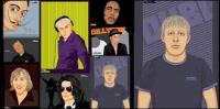 ++ portraits de dessin vectoriel ++
