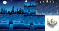 ベクターの構築または夜