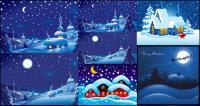 Noite de Natal Vector
