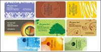 Vector de plantilla de tarjeta