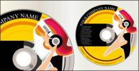 Matériau de couverture de CD