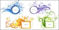 Der Trend der Muster Vektor materiell dekorative Box