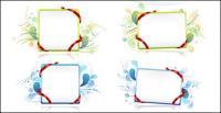Векторный материал ленты доска объявлений