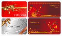 Vecteur de cartes cadeau