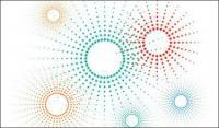 Modelo estelar vector material