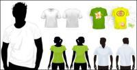 Plantilla de vector de t-shirt