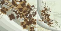 用紙の背景パターン ベクトル