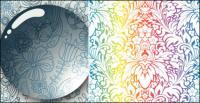 Dibujo vectorial de gotas de agua