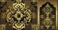 Gold Muster-Vektor