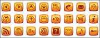 e-mail, pequena casa, notas, ferramentas e material de chave vector