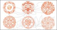 Краны, облака, китайский узел, lotus