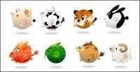 12 Tierkreiszeichen Tiere