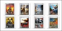 Компьютерные игры и фильмы покрытия png икона-3