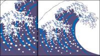 Material de aerosol de vectores de onda