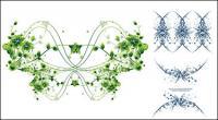 Spitzen-Muster-Vektor