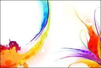 Ink, watercolor pattern-2