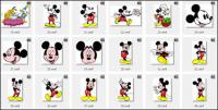 Disney, Micky Maus, Donald Duck, Mickey Mouse, Minnie, Pluto