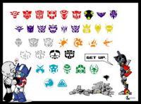 Transformers เวกเตอร์วัสดุ