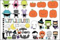 Vector de Halloween Theme
