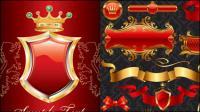 Cinta bandera escudo material