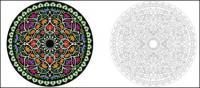 padrão circular