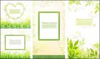 Folhas, vetor de rendas de grama