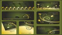 材料パターン カード テンプレート ベクトル