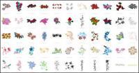 꽃 패턴 벡터 자료 (단락 71)