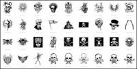 Sch�del, T-shirt Designs, Skelett (54??)