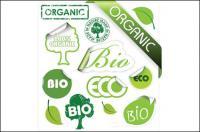الأخضر الموضوع ملصقات رمز مكافحة ناقلات المواد