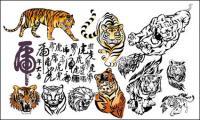 Тигр, тигр 2010 вектор
