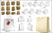 sac à provisions, sac de papier, sac de papier kraft