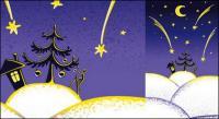 Прекрасный рождественский иллюстрация вектор