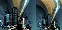 Архитектурный материал серии вектор -12