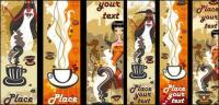 Frauen und Kaffee Vektor