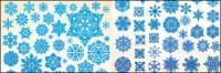 vecteur de flocon de neige -1 matériau