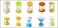 رمز الساعة الرملية مكافحة ناقلات المواد