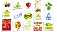 Frutas ícones vetoriais