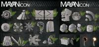 Maya-Pyramiden, Eclipse, statue