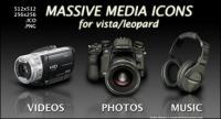 DV, caméra, casque, SONY KONICA icônes