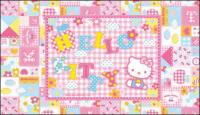 Hello kitty; oficial de Vector de 14