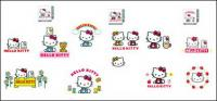 hello kitty resmi vektor 1-4