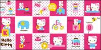 vector oficial de Hello kitty 159/173