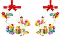 Cadeaux, ARC, ballon