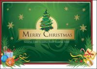Noël bottes, lâche des feuilles, cartes de Noël