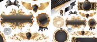 Papillon knot, insignes, médailles, phoques, décoration