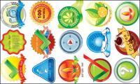 ليمون، علامة الاستفهام، البن، غصن الزيتون، البن، الأسماك ناقل المواد