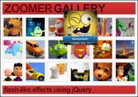 Imitation basée sur jQuery code flash photo album pour agrandir