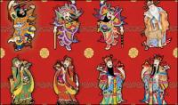 Gl�cklicher Chinese New Year Bild Vektor